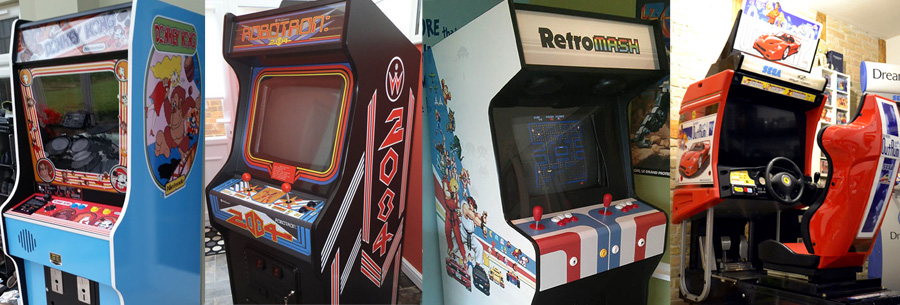 Arcade Art Shop Cabinet Artwork
