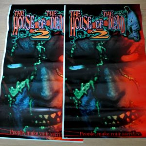 NOS House of the Dead 2 side art pair