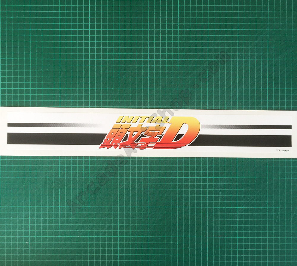 Initial-D base lid TOF-1504UK