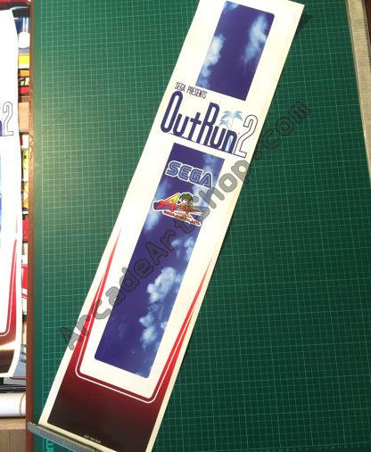 OutRun 2 UK Seat back decal ORT-1603-BUK