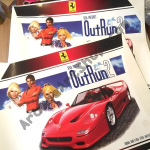OutRun 2 side art pair