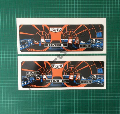 Space Invaders cpo pair