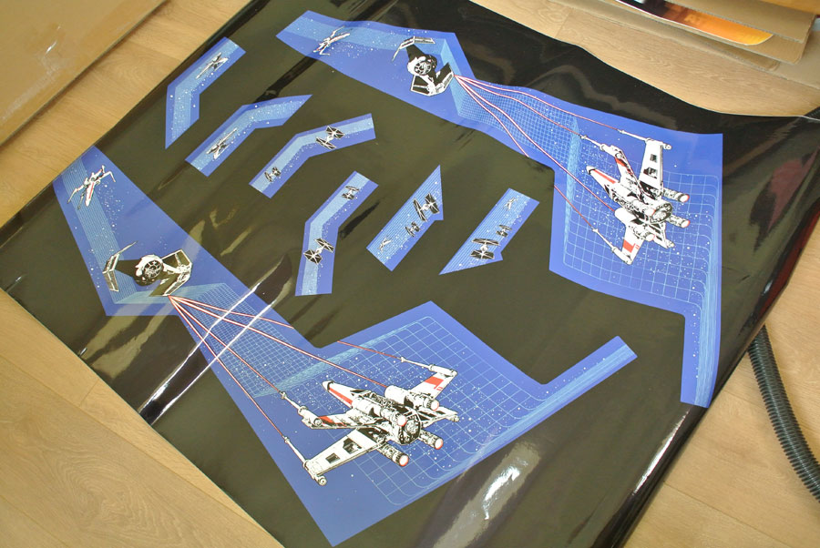 Star Wars Cockpit side decals