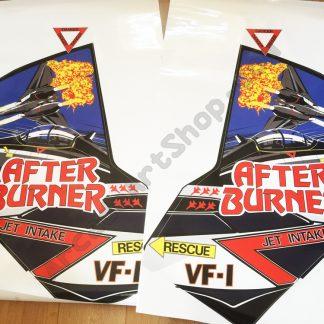 Afterburner side art decals pair
