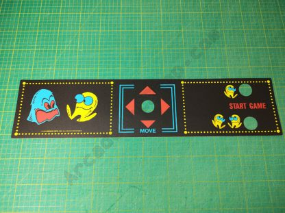 midway pacman upright cpo control panel overlay