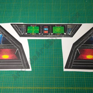 Star Wars bezel decal set