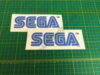 white sega logo pair