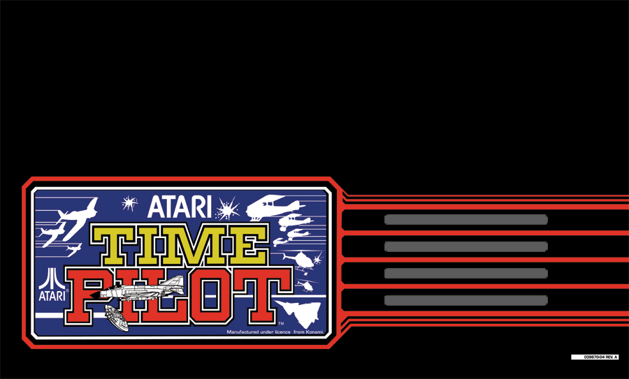 Time Pilot Marquee