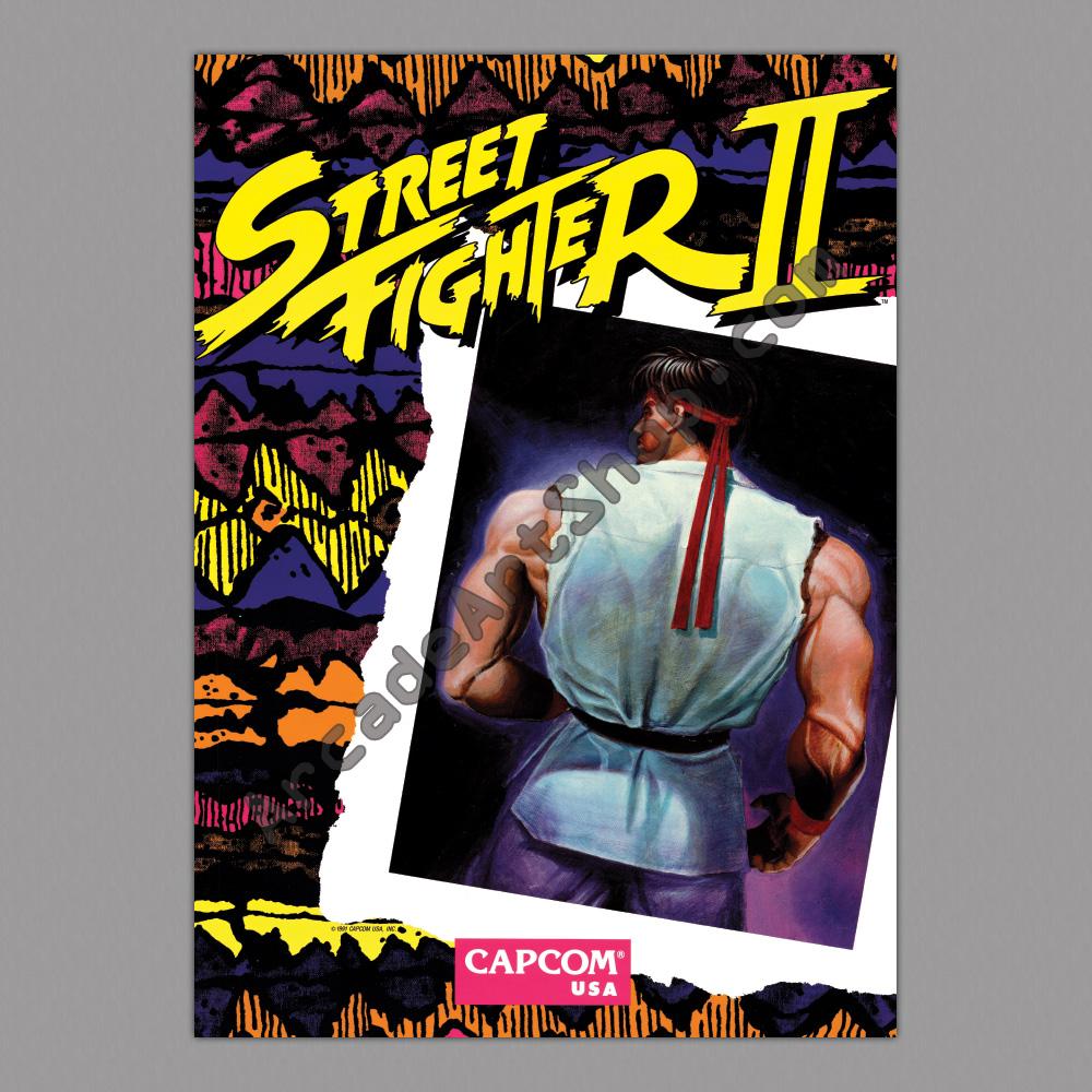 Poster-Street-Fighter-2-500x700mm – Arcade Art Shop