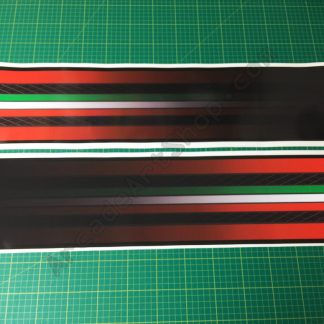 OutRun 2 base side decals pair