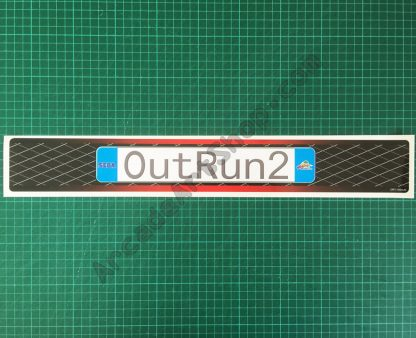 OutRun 2 UK base lid decal
