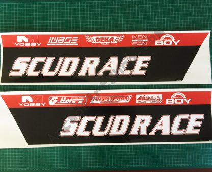 SCUD Race base side decals pair