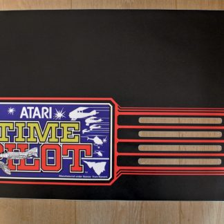 Atari Euro Time Pilot Marquee
