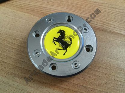 Ferrari emblem steering wheel cover