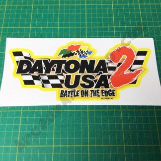 Daytona USA 2 seat logo DUT-2201-C