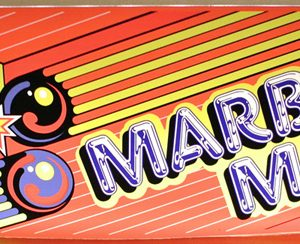 Marble Madness marquee