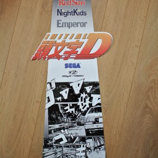 Initial-D seat back decal