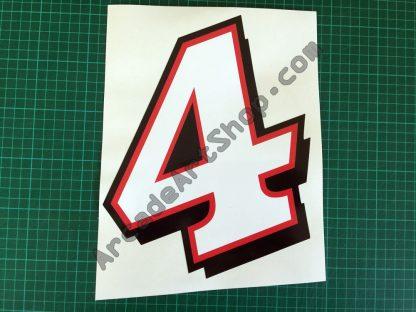 Daytona 2 number 4