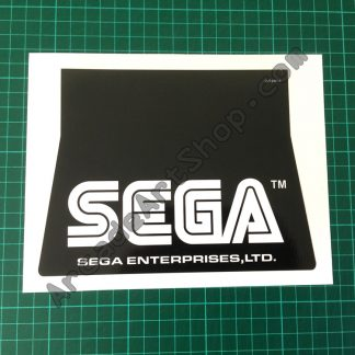 Daytona USA 2 upper seat SEGA sticker