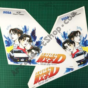 Initial-D lightbox sides decals pair