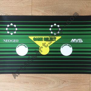 Lordsvale Neo Geo MVS control panel overlay