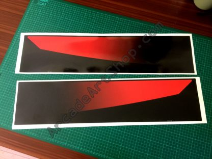 F355 Challenge base side stickers