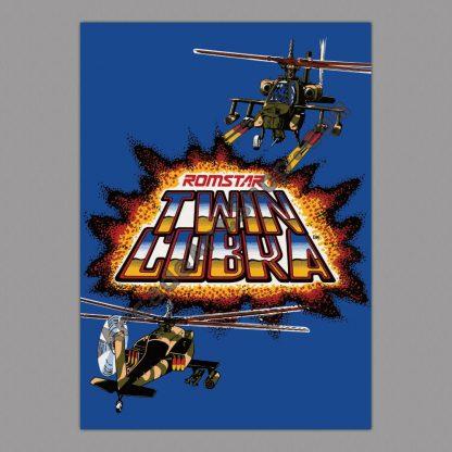 Twin Cobra poster