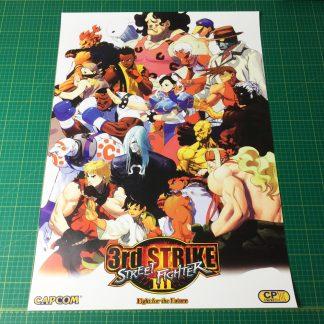 Street Fighter III 3rd Strike poster