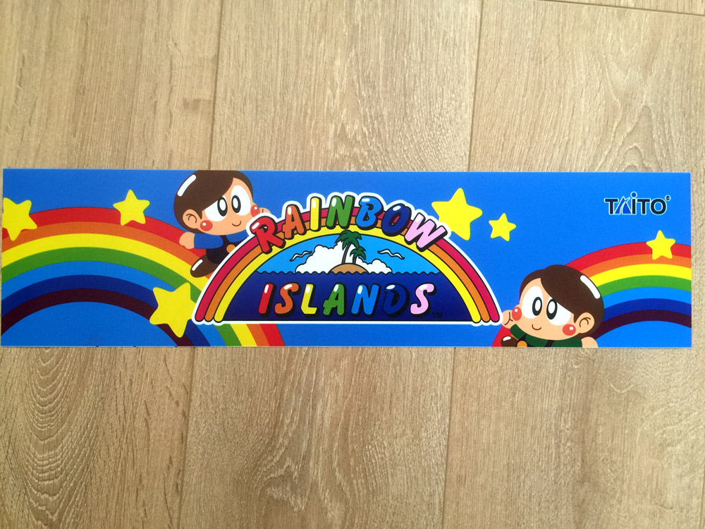 Rainbow Islands marquee