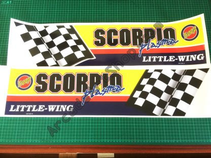 Daytona USA 2 base side decals pair