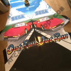 OutRun cabaret side art