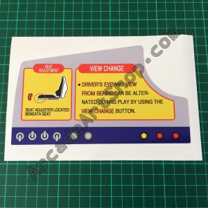 Sega Rally Dash export version decal