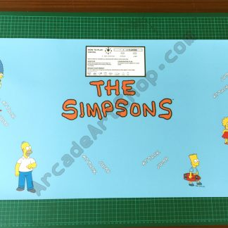 The Simpsons UK control panel overlay