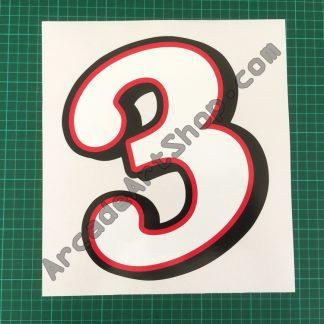 Daytona USA 2 number 3