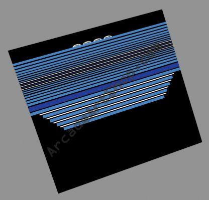 Electrocoin blue white CPO