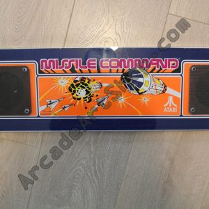 Original Missile Command Marquee