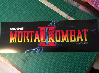 Mortal Kombat 2 marquee