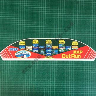 OutRun pvc map topper