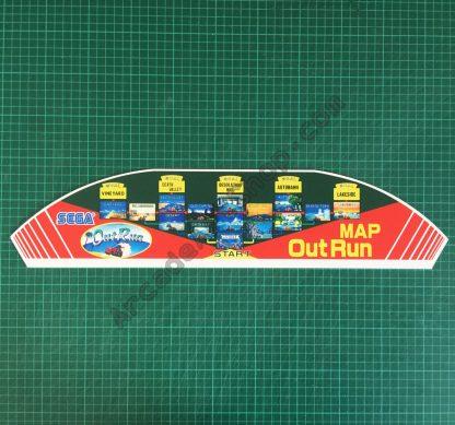 OutRun pvc map topper