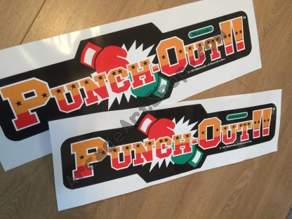 Punch-out side art pair