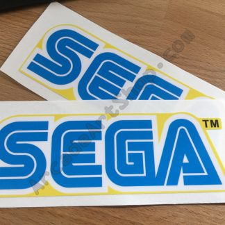 Sega Logo Pair Yellow 421-9749-03