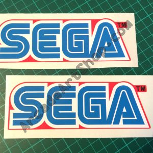 Sega Red Logo pair