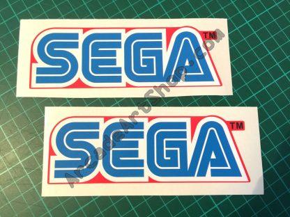 Sega Red Logo pair