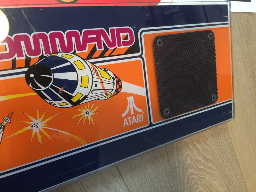 Missile Command Original Atari Marquee Header *SOLD OUT ...