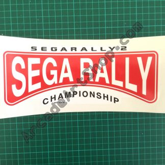 Sega Rally 2 seat decal SRT-1061B