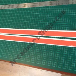 Sega Rally 2 line sides pair SRT-1031-C-1046-C