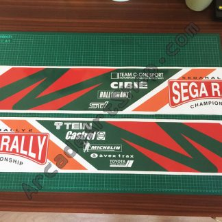 Sega Rally 2 base side decals pair