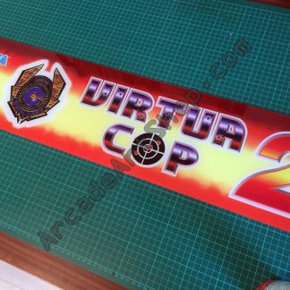Virtua Cop 2 marquee