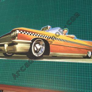 Crazy Taxi pvc topper
