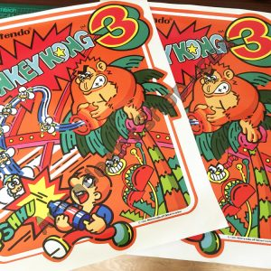 Nintendo Donkey Kong 3 Side Art